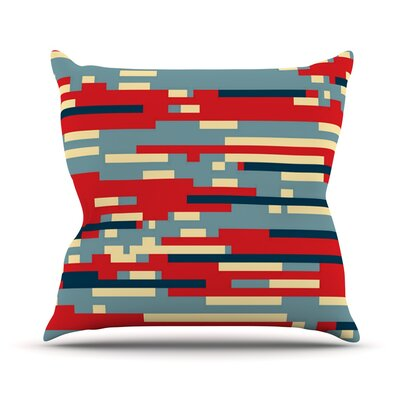 Nada by Trebam Throw Pillow Size: 20 H x 20 W x 4 D