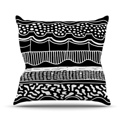 Abiodun Tribal by Vasare Nar Throw Pillow Size: 20 H x 20 W x 4 D