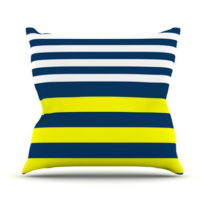Nauticki by Trebam Throw Pillow Size: 20 H x 20 W x 4 D