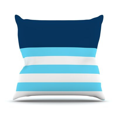 Nauticki by Trebam Throw Pillow Size: 18 H x 18 W x 3 D