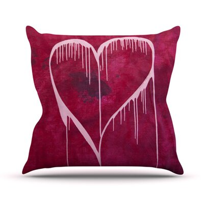 Miss You Throw Pillow Size: 26 H x 26 W