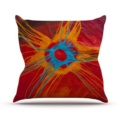 Eclipse Throw Pillow Size: 26 H x 26 W