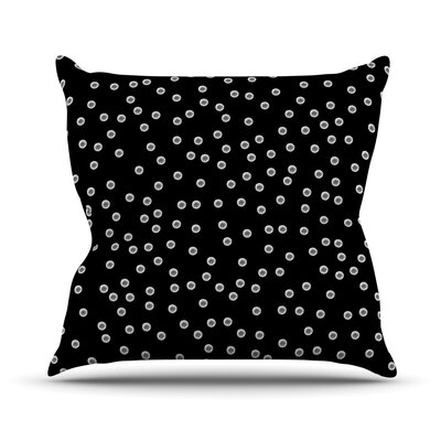 Watercolor Dots by Skye Zambrana Throw Pillow Size: 26 H x 26 W x 5 D