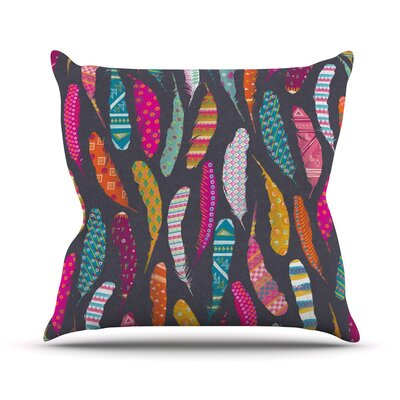 Flight by Skye Zambrana Throw Pillow Size: 18 H x 18 W x 3 D