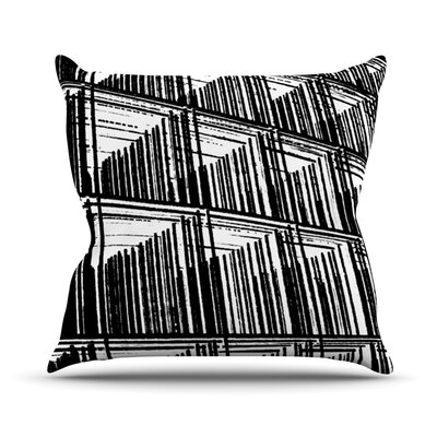 Celik by Trebam Lines Throw Pillow Size: 16 H x 16 W x 3 D