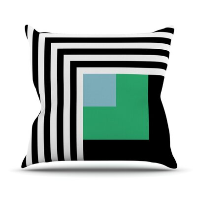 Kutovi by Trebam Throw Pillow Size: 26 H x 26 W x 5 D