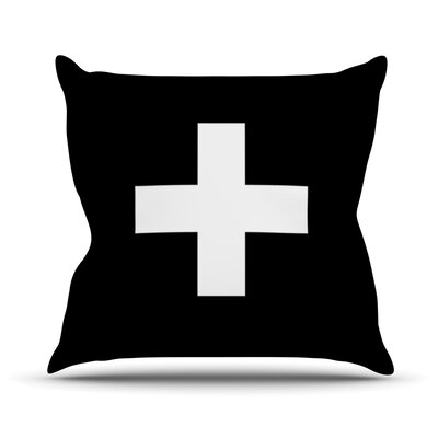 Plus by Trebam Throw Pillow Size: 16 H x 16 W x 3 D