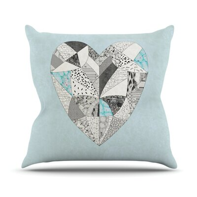 Comheartment Throw Pillow Size: 18 H x 18 W