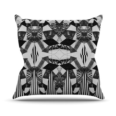 Tessellation Throw Pillow Size: 18