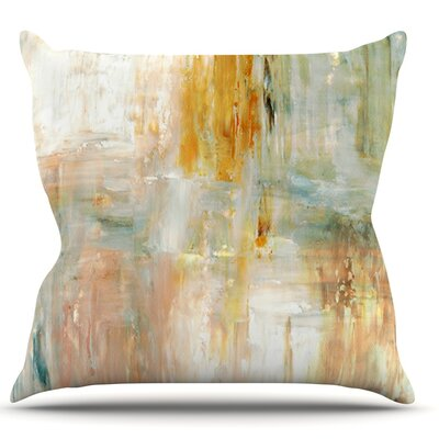Coffee by CarolLynn Tice Paint Throw Pillow Size: 16 H x 16 W x 1 D