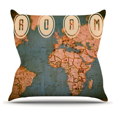 Roam II Throw Pillow Size: 20 H x 20 W x 1 D