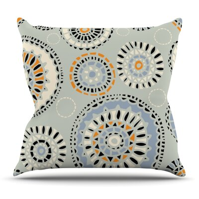Eastern Promise by Gill Eggleston Throw Pillow Size: 18 H x 18 W x 1 D
