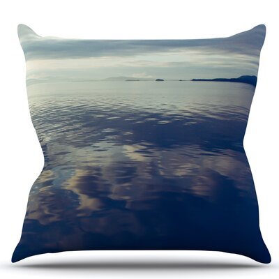 Cloud Atlas by Ann Barnes Water Throw Pillow Size: 18 H x 18 W x 1 D