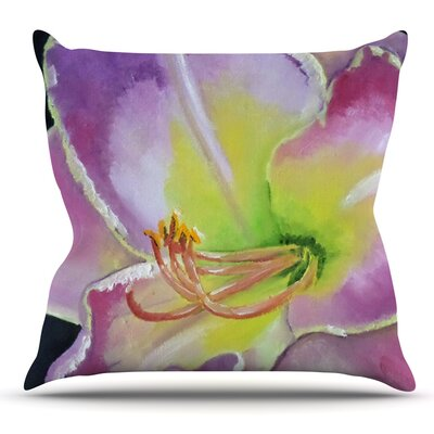 Cathy Rodgers Throw Pillow Size: 16 H x 16 W x 1 D