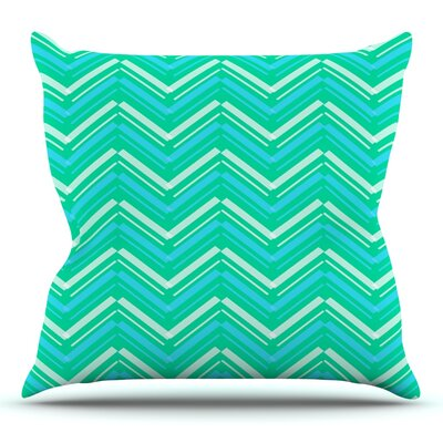 Symetrical by CarolLynn Tice Throw Pillow Size: 16 H x 16 W x 1 D
