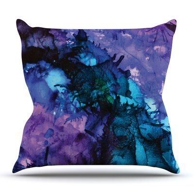 Soul Searching by Claire Day Throw Pillow Size: 16 H x 16 W x 1 D