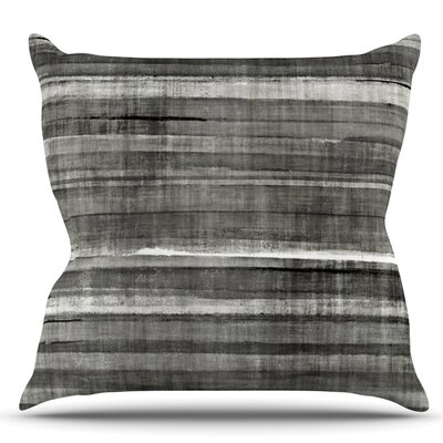 Accent by CarolLynn Tice Dark Neutral Throw Pillow Size: 18 H x 18 W x 1 D