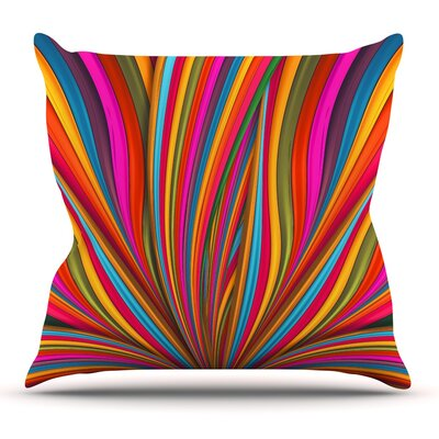 Believer by Danny Ivan Throw Pillow Size: 16 H x 16 W x 1 D