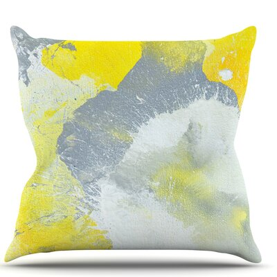 Make A Mess by CarolLynn Tice Throw Pillow Size: 26 H x 26 W x 1 D