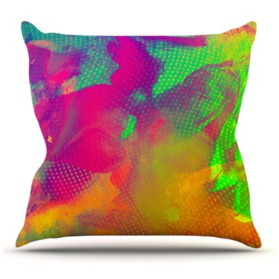 Austra by Danny Ivan Throw Pillow Size: 26 H x 26 W x 1 D