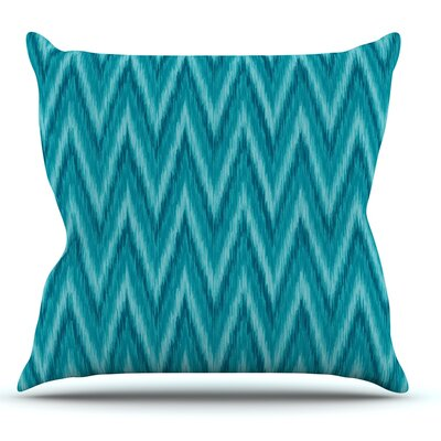 Island by Amanda Lane Throw Pillow Size: 20 H x 20 W x 1 D