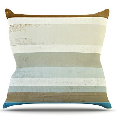 Invent by CarolLynn Tice Neutral Throw Pillow Size: 16 H x 16 W x 1 D