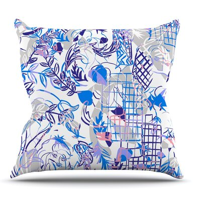 She by Gabriela Fuente Throw Pillow Size: 26 H x 26 W x 1 D