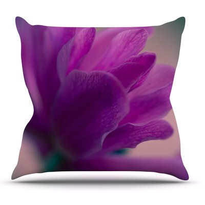 Standing Ovation by Ann Barnes Flower Throw Pillow Size: 16 H x 16 W x 1 D