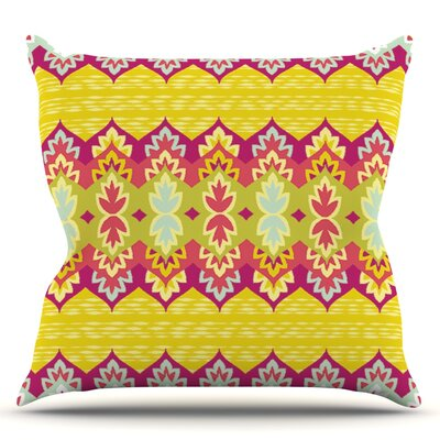 Bohemia by Amanda Lane Throw Pillow Size: 26 H x 26 W x 1 D