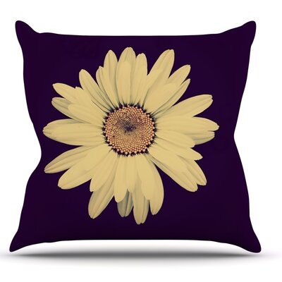 Half Crazy by Robin Dickinson Throw Pillow Size: 26 H x 26 W x 5 D