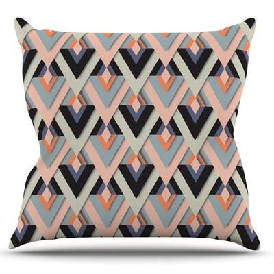 Sweet & Sharp by Akwaflorell Throw Pillow Size: 18 H x 18 W x 1 D