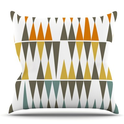 Diamond Kilim by Pellerina Design Throw Pillow Size: 16 H x 16 W x 1 D