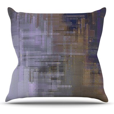 Reach for the Sky by Michael Sussna Throw Pillow Size: 18 H x 18 W x 3 D