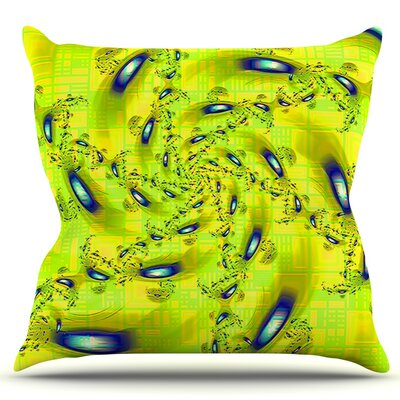 Synchronized Swimming by Michael Sussna Throw Pillow Size: 16