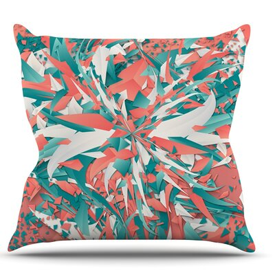 Like Explosion by Danny Ivan Throw Pillow Size: 16 H x 16 W x 1 D