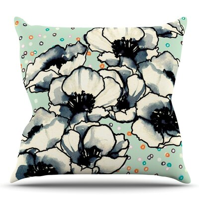 Anenome Fizz by Sonal Nathwani Throw Pillow Size: 26 H x 26 W x 5 D