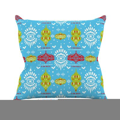 Deco Row by Miranda Mol Throw Pillow Size: 26 H x 26 W x 5 D