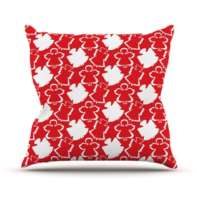 Dancing Angels by Miranda Mol Throw Pillow Size: 20 H x 20 W x 4 D