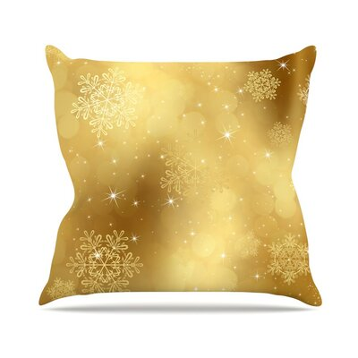 Snap Studio Golden Radiance Throw Pillow Size: 26 H x 26 W x 5 D