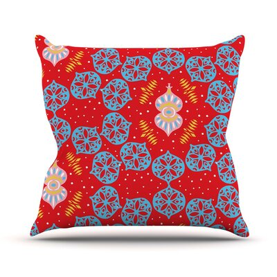 Frosted by Miranda Mol Throw Pillow Size: 16 H x 16 W x 3 D