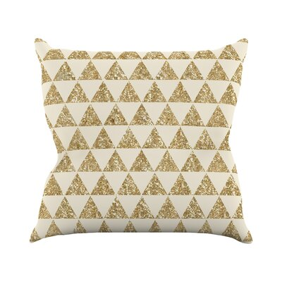 Glitter by Nika Martinez Throw Pillow Size: 26 H x 26 W x 5 D