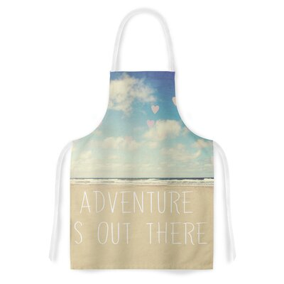 Adventure is Out There by Sylvia Cook Artistic Apron