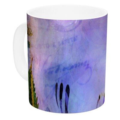 KESS InHouse Couple In Love by alyZen Moonshadow 11 oz. Purple Ceramic Coffee Mug AM1003ACM01