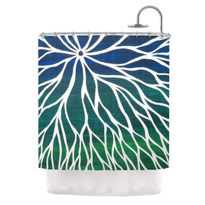 Ocean Flower by NL Designs Shower Curtain