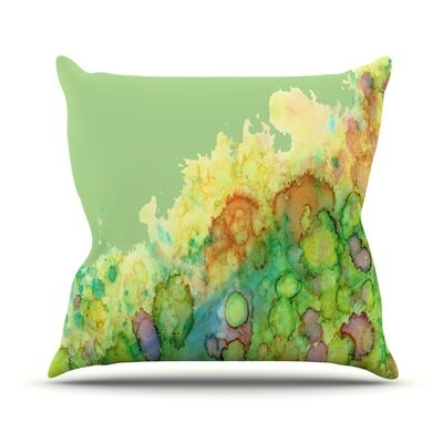 Sea Life Throw Pillow Size: 16 H x 16 W
