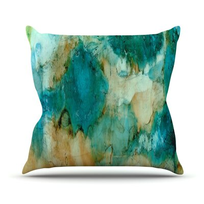 Waterfall Throw Pillow Size: 18 H x 18 W