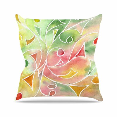Gift Wrap Throw Pillow Size: 16 H x 16 W