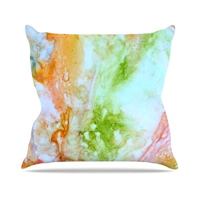 November Rain Throw Pillow Size: 16 H x 16 W