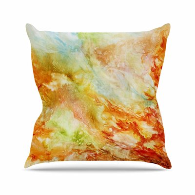 Autumn Breeze Throw Pillow Size: 16 H x 16 W