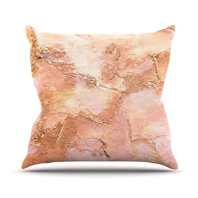 Bronze It Throw Pillow Size: 16 H x 16 W
